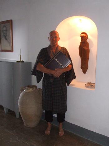 Jørgen Øllgaard som munk